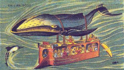 Sådan troede kunstnere for 100 år siden, at havet ville se ud i år 2000