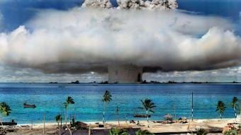 Koraller laver vildt comeback efter atomprøvesprængning