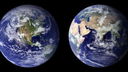Den Blå Planets oprindelse