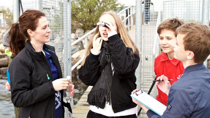 Nyt fællesfagligt undervisningsforløb på Den Blå Planet